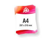 Letak - Flyer A4 format