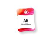 Letak - Flayer A6 format