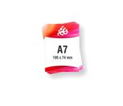 Letak - Flayer A7 format