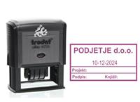 Trodat 4726 datumska stampiljka za likvidacijo