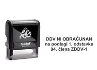 Trodat 4912 DDV ni obracunan - 01
